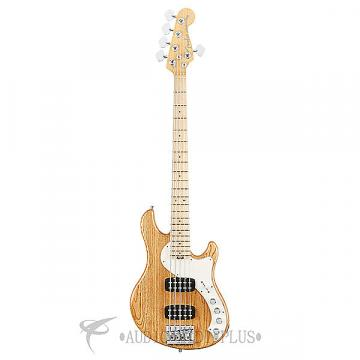Custom Fender American Elite Dimension HH 5-Strings Electric Bass Guitar Natural- 193002721-885978649853
