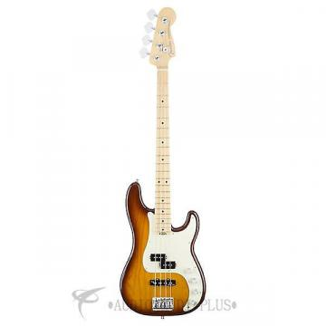 Custom Fender American Elite Precision Bass Ash Maple Fingerboard 4S Electric Bass Guitar Tobacco Burst