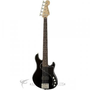 Custom Fender Deluxe Dimension Rosewood Fingerboard 5 Strings Electric Bass Guitar Black - 142700306