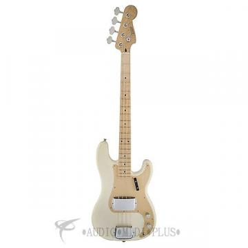 Custom Fender American Vintage 58 Precision 4S Electric Bass Guitar White Blonde-191002801-885978279005