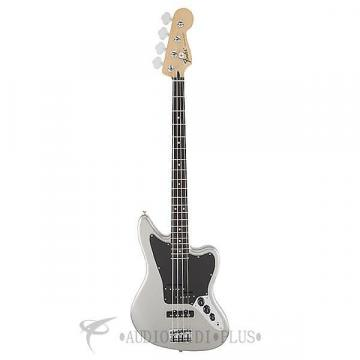Custom Fender Standard Jaguar Rosewood Fingerboard 4 String Electric Bass Guitar Ghost Silver - 149700581