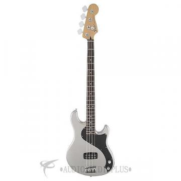 Custom Fender Standard Dimension Rosewood Fingerboard 4 Strings Electric Bass Guitar Ghost Silver-149600581