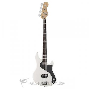 Custom Fender Standard Dimension Rosewood Fingerboard 4 String Electric Bass Guitar Olympic White-149600505