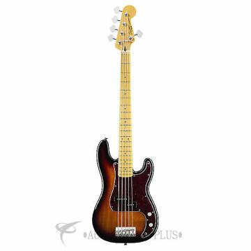 Custom Fender Squier Vintage Modified Precision Maple Fingerboard 5-String Electric Bass Guitar