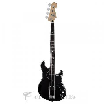 Custom Fender Standard Dimension Rosewood Fingerboard 4 String Electric Bass Guitar Black - 149600506