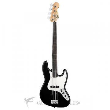 Custom Fender Standard Jazz Bass Fretless Rosewood Fingerboard 4 S  Electric Bass Guitar Black- 146208506