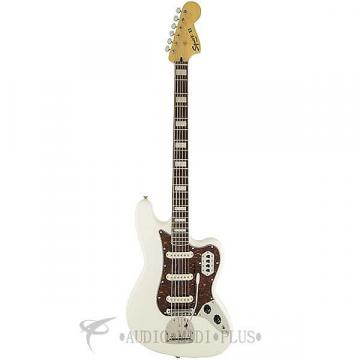 Custom Fender Squier Vintage Modified Rosewood Fingerboard 6 Strings Electric Bass Guitar Olympic White