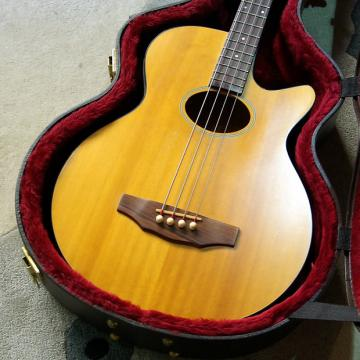Custom Guild B4-E-NT Early 90's Natural Electro-Acoustic Bass
