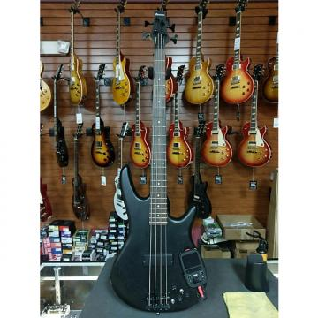 Custom SRKP4WK Electric Bass w/Mini Kaoss Pad 2, Weathered Black