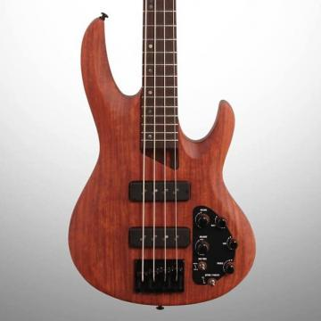 Custom ESP LTD B1004SE NS Electric Bass, Bubinga, Open Box