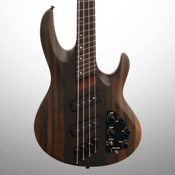Custom ESP LTD B1004SE NS Electric Bass, Swamp Ash