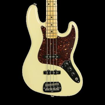 Custom G&L USA JB Electric Bass - Nitro Vintage White with Case