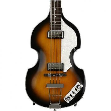 Custom Hofner Contemporary Violin Bass - Sunburst Demo