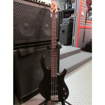 Custom Cort Action PJ Bass Open Pore Black