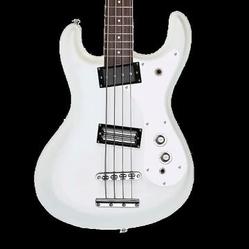 Custom Danelectro '64 Electric Bass - White Pearl