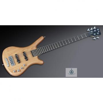 Custom Warwick RockBass Corvette Basic 5, Natural Satin, Fretted, Passive 5 String Bass, Free Shipping