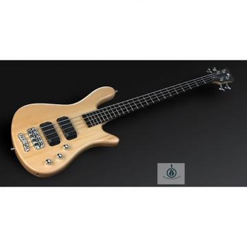 Custom Warwick RockBass Streamer Standard 4 String Bass Natural Satin Fretted Passive Pickups & Electronics