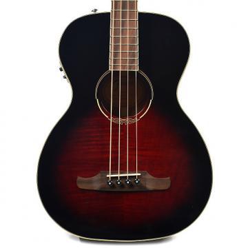 Custom Fender T-Bucket Acoustic-Electric Bass E Sunburst Flame Maple