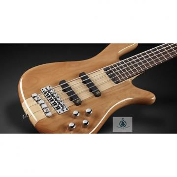 Custom Warwick RB Streamer NT 5 Natural, Alder, Fretted, Active 5 String Bass, Free Shipping