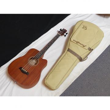 "Custom GOLD TONE MicroBass M-Bass 25"" scale 4-string A/E BASS guitar w/ GIG BAG new"