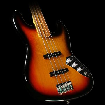 Custom Fender Artist Jaco Pastorious Jazz Bass Fretless 3-Tone Sunburst