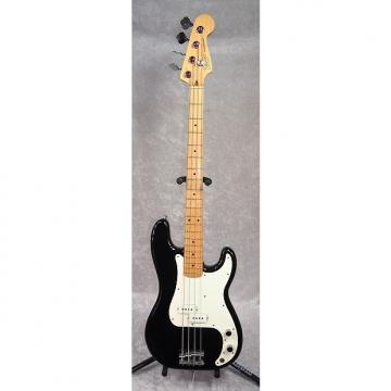 Custom 1983 USA Fender Precision Bass P-bass guitar in black finish with case