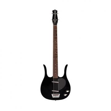 Custom Danelectro Bass Guitar - 58 Longhorn Reissue - Black