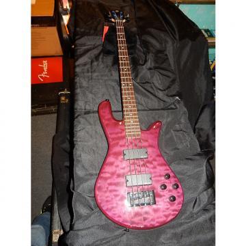 Custom Spector Legend Classic-4 4-String Electric Bass Guitar Trans Purple