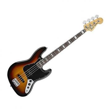 Custom Fender Classic Series 70's Jazz Bass, 3 Tone Sunburst, Rosewood
