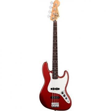 Custom Fender Standard Jazz Bass, Candy Apple Red, Rosewood