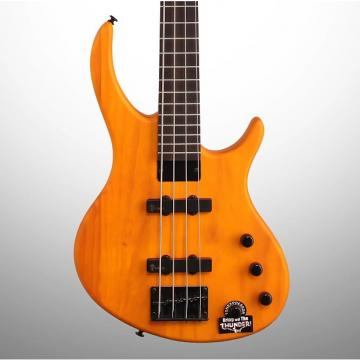 Custom Tobias Toby Deluxe IV Electric Bass, Amber Satin