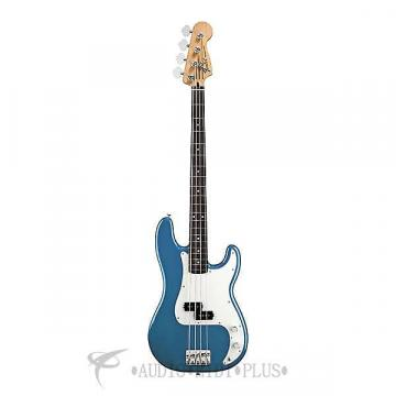 Custom Fender Standard Precision Rosewood Fingerboard 4 Strings Electric Bass Guitar Lake Placid Blue