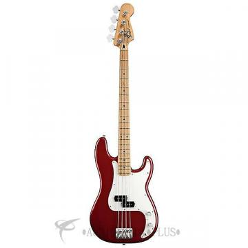 Custom Fender Standard Precision Maple Fingerboard 4-Strings Electric Bass Guitar Candy Apple Red