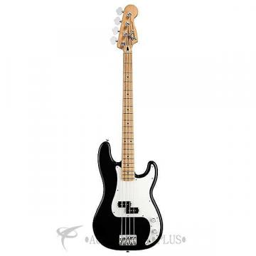 Custom Fender Standard Precision Maple Fingerboard 4 Strings Electric Bass Guitar Black - 146102506