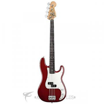 Custom Fender Standard Precision Rosewood Fingerboard 4 Strings Electric Bass Guitar Candy Apple Red