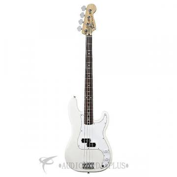 Custom Fender Standard Precision Rosewood Fingerboard 4 Strings Electric Bass Guitar Arctic White - 1461005