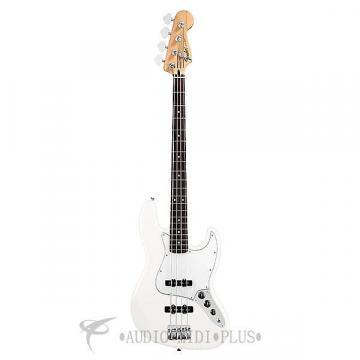 Custom Fender Standard Jazz Rosewood Fingerboard 4 Strings Electric Bass Guitar Arctic White - 146200580