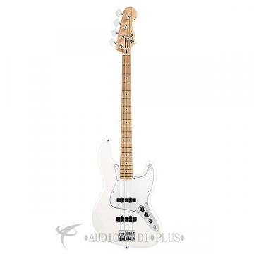 Custom Fender Standard Jazz Maple Fingerboard 4 Strings Electric Bass Guitar Arctic White - 146202580