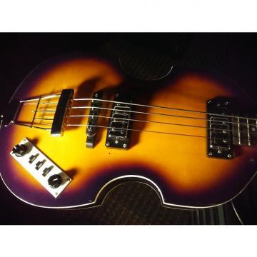 Custom Hofner B Bass  Sunburst Beatles McCartney