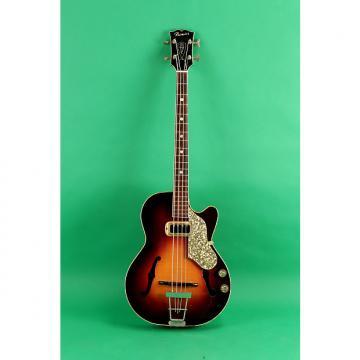 Custom Premier Bantam Bass 1956 Sunburst
