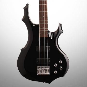 Custom ESP LTD F-104 Electric Bass, Black