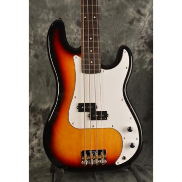 Custom Vintage V4 Reissued Precision Style P Bass 2016 3 Color Sunburst w all Wilkinson Pickups & Hardware