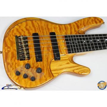 Custom Yamaha TRBJP2 John Patitucci Signature Bass w/ HSC, Amber, NEW! TRB-JP2 #28323