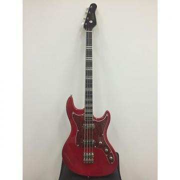 Custom Limited Edtion Reissue Hofner Galaxie Short Scale Funky Bass Metallic Red Staple Pickups Brand New