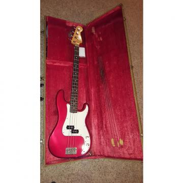 Custom Fender Precision Bass 1984-87 Red
