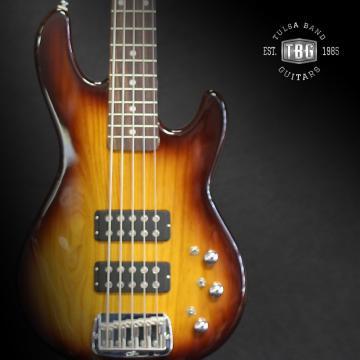 Custom G&L L2500 Tribute Series 5-String Bass 2016 Tobacco Sunburst