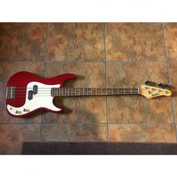 Custom Austin Precision Electric Bass Guitar 4 String NICE Red
