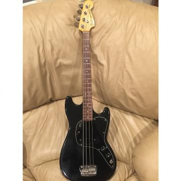 Custom Fender Musicmaster Bass 1978 Black