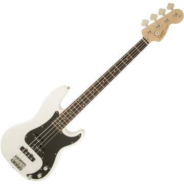 Custom Squier Affinity Series Precision Bass PJ Electric Bass - Olympic White
