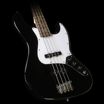 Custom Squier Affinity Series Jazz Bass Electric Bass Black